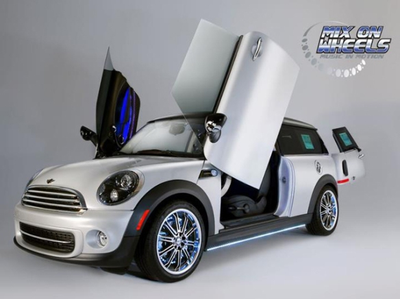 Mix on Wheels MINI Clubman Xtreme